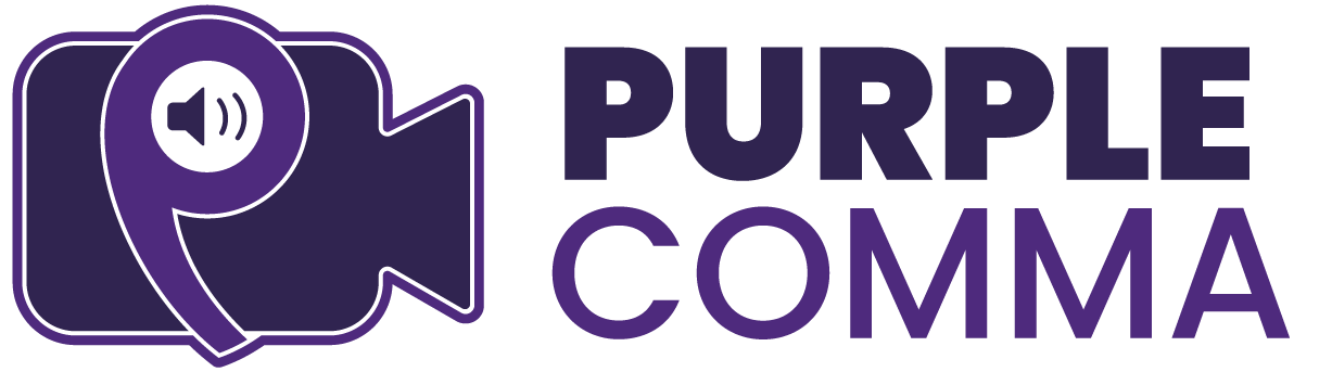 Purple Comma - Podcasting, Video Production, Strategy, Education